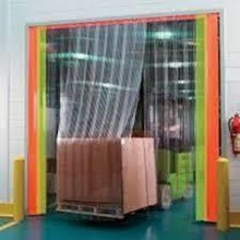 PVC STRIP CURTAIN (Clear plastic) Whatsapp (0821 1