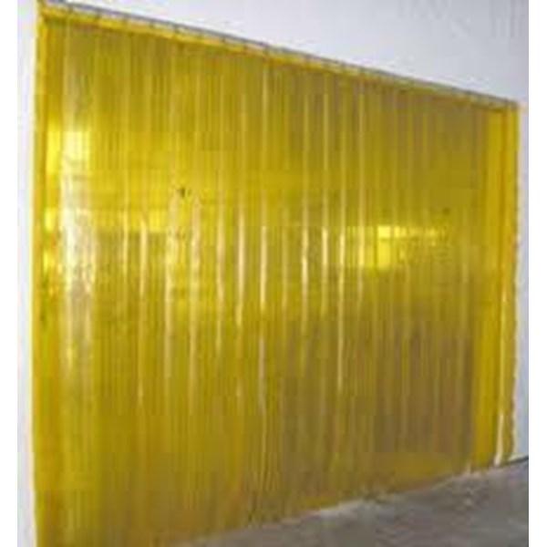 Pemasangan tirai PVC Karawaci yellow