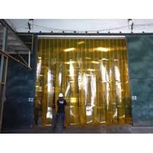 tirai PVC Plastik cold storage bening tangerang