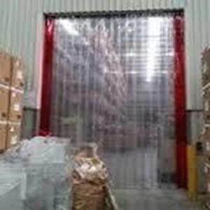transparent curtain plastik pvc jerman tangerang