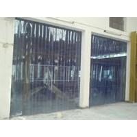 pvc curtain kuning ( penyekat ruangan yogyakarta ) 1