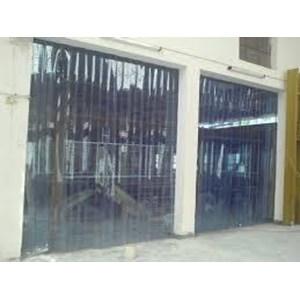 pvc curtain kuning ( penyekat ruangan yogyakarta )