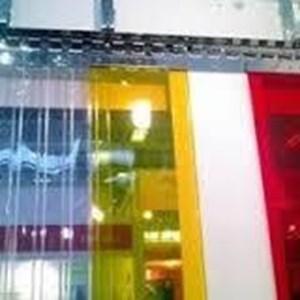tirai curtain gudang tangerang ( Penyekat ruangan)