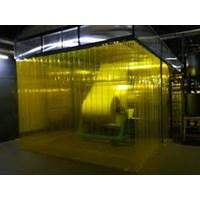 Jual PVC curtain blue clear tigaraksa HP 0821 1059 5912 2