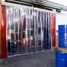 Cold Room Cold Storage tirai blue clear solo