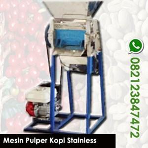 Mesin Pengupas Kulit Kopi Basah Stainless - Pulper Kopi Stainless