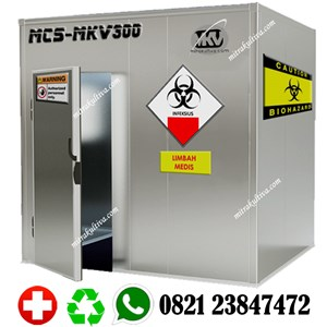Medical Waste Cold Storage - Cold Storage Limbah Medis