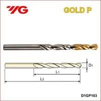 Mata Bor YG1 / Drill Bit / Gold P Drill/Mesin Bor Tangan