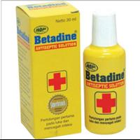 Jual Betadine Antiseptic Solution