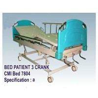 Jual Tempat Tidur Pasien - Bed Pasien 3 Crank