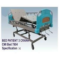 Jual Tempat Tidur Pasien - Bed Pasien 3 Crank (c)