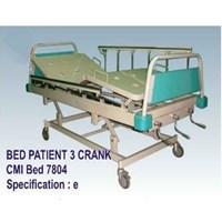 Jual Tempat Tidur Pasien - Bed Pasien 3 Crank (e)