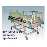Jual Tempat Tidur Pasien - Bed Pasien 3 Crank (f)