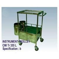 Jual Meja Operasi - CMI Instrument Trolley 335 (b)