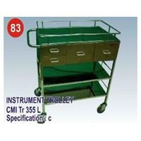Jual Meja Operasi - CMI Instrument Trolley 335 (c)