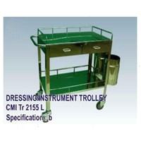 Jual Meja Operasi - CMI Dressing_Instrument Trolley (b)