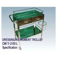 Jual Meja Operasi - CMI Dressing_Instrument Trolley (c)
