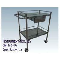 Jual Meja Operasi - CMI Instrument Trolley EKG_CTG