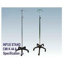 P3K - CMI Infus Stand 5 Kaki Plastic (4 Hook )