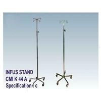 Jual P3K - CMI Infus Stand 5 Kaki Stainless (4 Hook)