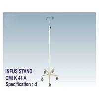 Jual P3K - CMI Infus Stand 5 Kaki Steel (4 Hook)