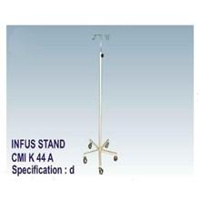 P3K - CMI Infus Stand 5 Kaki Steel (4 Hook)
