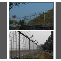 Barbed Wire Fence Airport