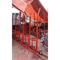 APAR Trolley untuk alat pemadam kebakaran