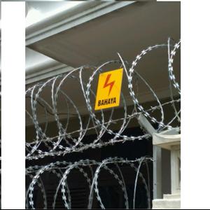 Spesialis Pemasangan Pagar Kawat Duri & Razor Wire 2