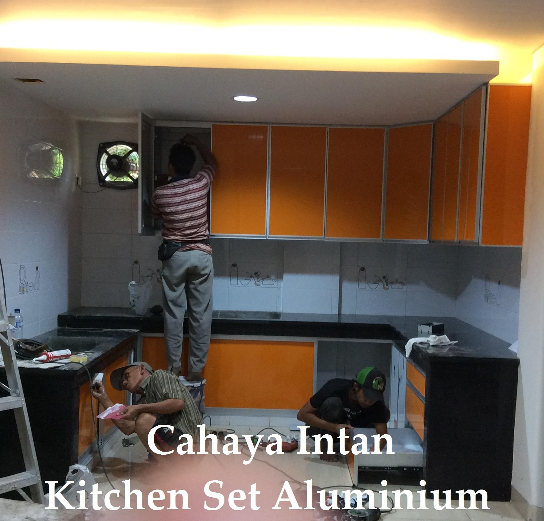 Sell aluminum kitchen set from indonesia by toko cahaya intan alumuniumcheap price