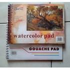 Watercolour Pad A4  #  Gouache Pad A4 Bianyo  1