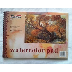 Watercolour Pad A3 Bianyo