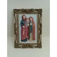 Hiasan dinding resin: Keluarga Kudus  (PBL-02)