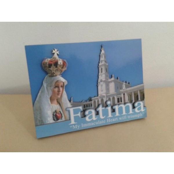 WP2813-2D1  Pajangan Meja 2D Maria Fatima