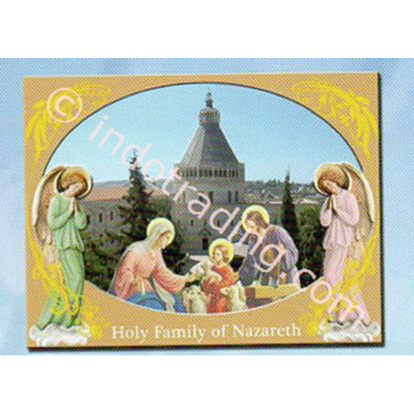WP2814-3D9  Pajangan meja 2D - Holy Family Of Nazareth