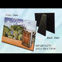 WP2814-3D5  Pajangan meja 2D - BIBLE The Book That Saved Many Lives