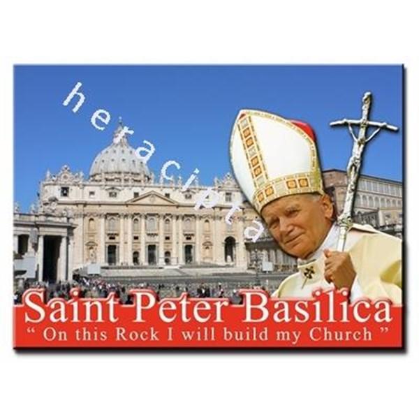 WP2813-2D3  Pajangan meja 2D - Saint Peter Basilica