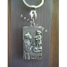 GK-20  gantungan kunci St Antonius Padua kotak  1