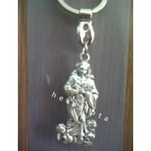 GK-18C  Gantungan Kunci Maria Diangkat Ke Surga