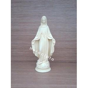(NSDGF-6) Patung Bunda Maria Tangan terbuka 15cm