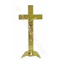 Cross Of Gold Sitting Flat Iron