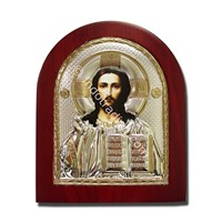 (MI-002)  Icon Yesus the Eternal High Priest