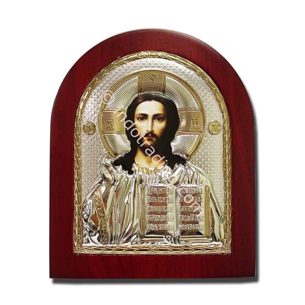 (MI-002)  Icon Yesus the Eternal High Priest