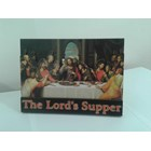 WP2813-2D0  Pajangan meja 'Perjamuan Terakhir' Last Supper 2