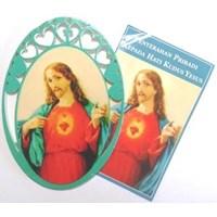 Gambar Hati Kudus Yesus (oval) (GHK-55)