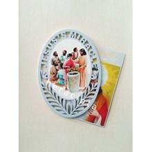 Gambar Yesus Pernikahan di Kana - Seri Jesus Miracle (GYO-56)