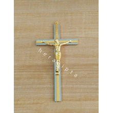 Mch-1720 Cross Iron Wall Color Silver Yellow Gold