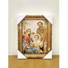 WCF-03  Frame gambar lukisan Keluarga Kudus 1