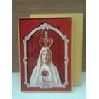 Hiasan Gantung Dinding (Fth)  Fatima 100Th Souvenir 23Cm 2