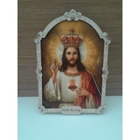 Hiasan Dinding Christ The King 23Cm